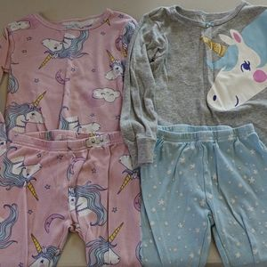 Two Carter's PJ's, size 3t